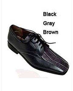 Tones Shoes BlackGreyBrown