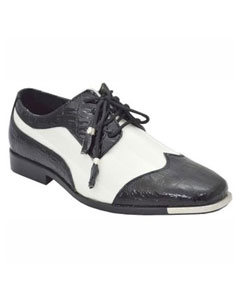 Dress Shoes Black White