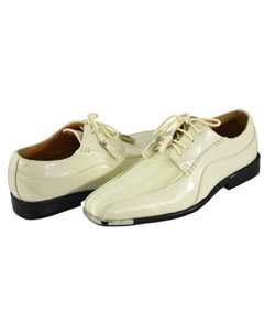 Two Toned Oxford Shoes Perfect for Men Ivory ~ Cream ~