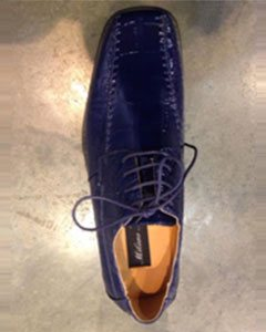 Dress Shoes Navy Blue