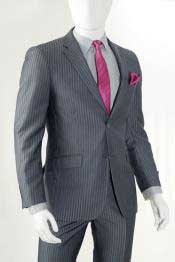 Suits Two Button Charcoal
