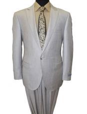 Great Gatsby Leonardo Dicaprio Look Slim Fit 1 Button Peak Lapel