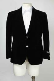 Shawl Lapel Mens Black