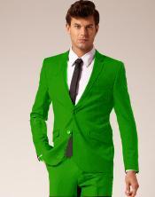 emerald green tux