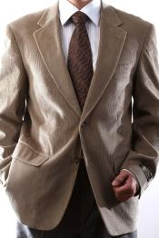 Button Tan 100% Cotton