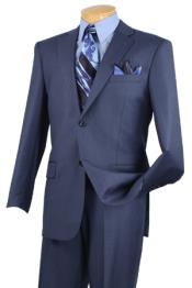 Mens Executive 2 Piece Suit Blue