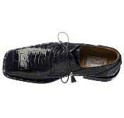 Handcrafted World Best Alligator ~ Gator Skin Black/Grey/Camel