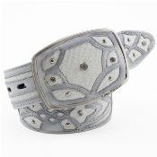 Belt Authentic White Sharkskin