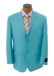 Light Blue ~ Sky Blue / Baby Cheap Priced Unique Fashion Designer Mens Dress blazers Sale Sport