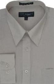 Beige Mens Dress Cheap Priced Shirt Online Sale