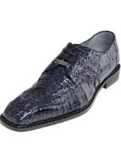 """Chapo"" Navy All-Over Genuine Hornback Crocodile ~ World Best Alligator ~"