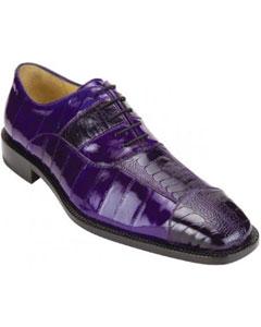 """""""Mare"""" Purple Genuine Eel"""