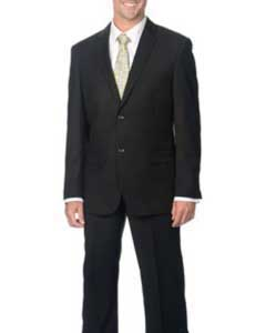 Notch collar Black 2-Button Priced Business Suits
