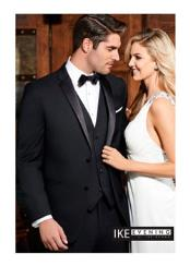 Parker Black 2-Button Notch Tuxedo Ike