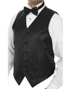 Four-pieceDress Tuxedo Wedding Vest ~ Waistcoat ~ Waist coat Set