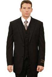Trueran-Viscose Mens Classic affordable Cheap Priced Business Suits Clearance Sale online sale