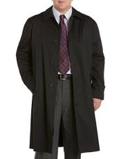 Long Outerwear Black Coat