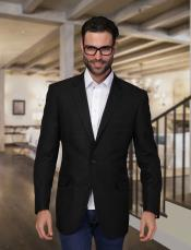 Summer Linen Light Weight Blazer ~ Sport coat ~ Jacket Black