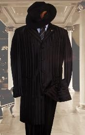 FJS146 Tonal Shadow Pinstripe tone on tone Tuxedo Pattern Come in