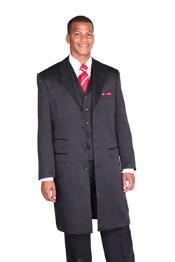 Black Full Length Suit