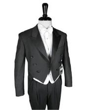 Black Peak Tailcoat Includes