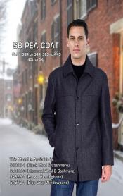 Mens Dress Coat Black Sb Designer Mens Wool Mens Peacoat Sale