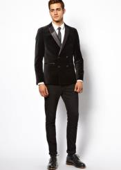 Velvet Slim Fit Double