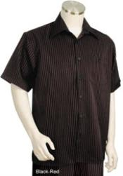 Breasted Short Sleeve Polyester