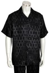 Mens Short Sleeve 2piece