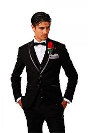 Men New Fashion Designer Weddingr Groom Tuxedo Dinner Suit Jacket BlazerTrouser