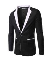 Mens Black and White Blazer /