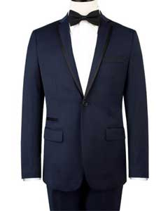 & Kross Blue Fashion Tuxedo