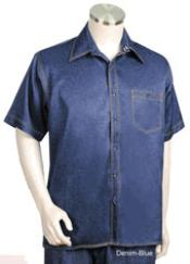 Polyester Short Sleeved Walking