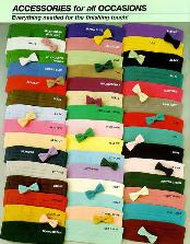 Ties & Cummerbunds Silk Satin in 20 Colors