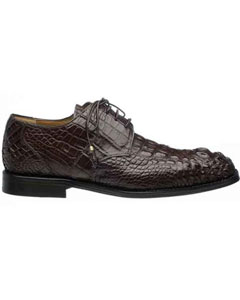 Chocolate Mens Italian Lace