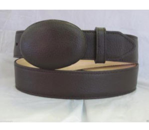 Authentic Brown Deer Western Cowboy Belt