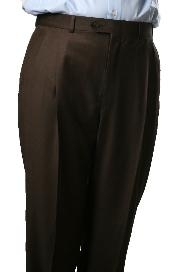 Somerset Pleated Trouser  unhemmed unfinished bottom