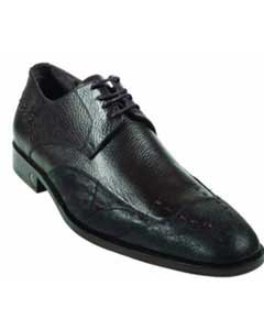 CatShark Skin Brown Dress Shoe