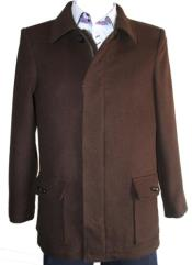 Mens Dress Coat Designer Mens Wool Mens Peacoat Sale 4 Button with