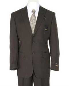 Slim Fitted Peak Lapel Side Vents