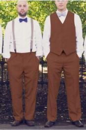 Any Color Matching Vest & Pants Set Plus Any Color Shirt & Tie or Bow tie Set