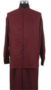 Mandarin Banded Shirt and