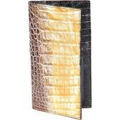caiman ~ World Best Alligator ~ Gator Skin Lomo Mens Wallet