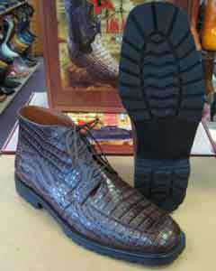 Crocodile Caiman Brown Men