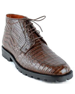 Botin para Hombre Caiman Panza Suela Tractor Cafe Ankle Dress Style For