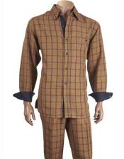 Mens checkered check pattern