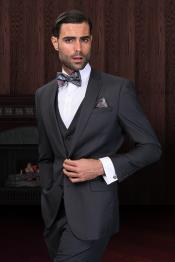 Fit Suit Charcoal Tapered Mens Slim Fit Suits Tuxedo 2 Button