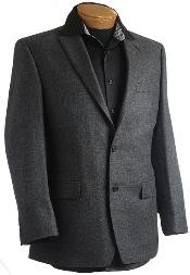 Charcoal Designer Classic Sports Jacket