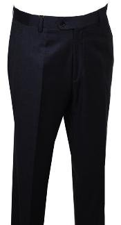 Pants Charcoal without pleat flat front Pants