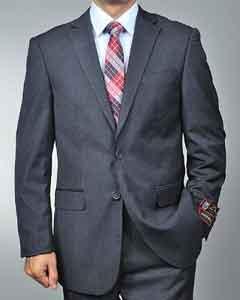 Charcoal Grey 2-button Suit